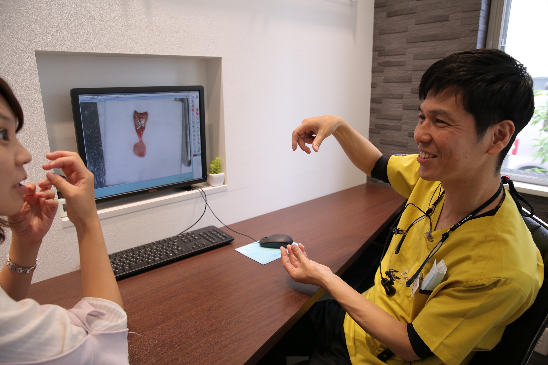 アキヨシデンタルクリニックでの矯正治療      (検査結果の説明)のイメージ