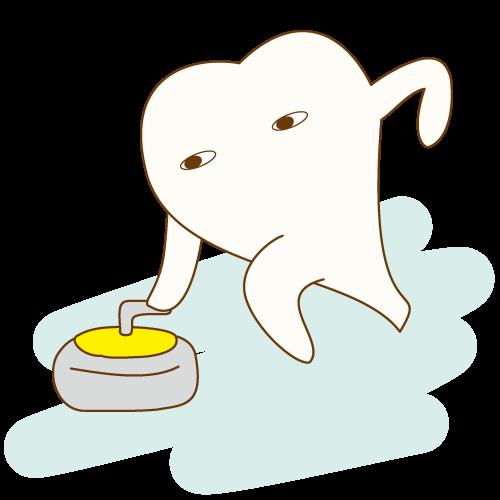 むし歯の進行度~C4~のイメージ