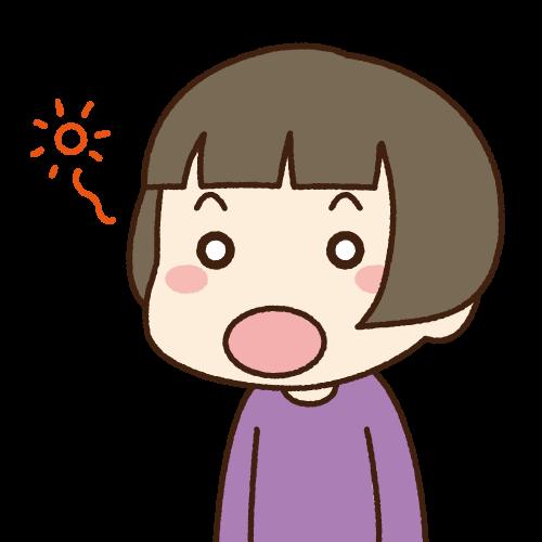 口の周りの癖について④(MFT)のイメージ