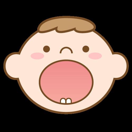 赤ちゃんのお口のケアのイメージ