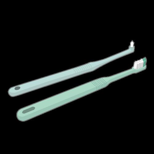 補助的清掃用具~ワンタフトブラシ~のイメージ